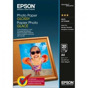Фото хартия Epson Photo Paper Glossy A4, 200 гр. C13S042538
