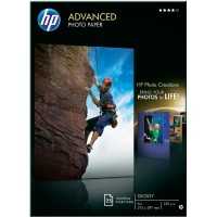 Фото хартия HP Advanced Glossy Photo Paper, гланц Q5456A