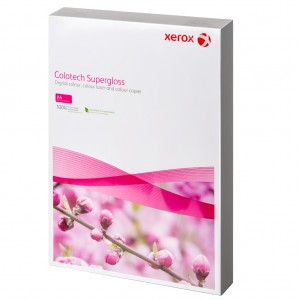 Картон Xerox Colotech+ Supergloss A4, 160 гр., 250 листа