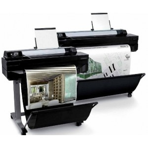 HP Designjet T520 24-in ePrinter Плотер