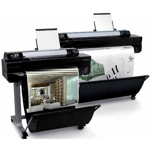 HP Designjet T520 24-in ePrinter Плотер