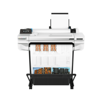 HP DesignJet T525 24-in Printer мастиленоструен плотер