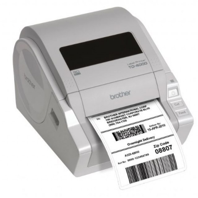 Brother TD-4000 професионален етикетен принтер
