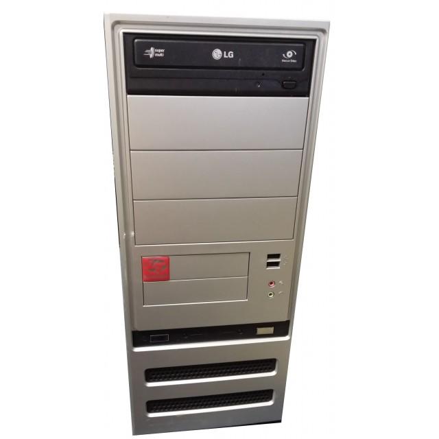 Настолен компютър с дънна платка ASRock 4Core1600-DVI (употребяван)