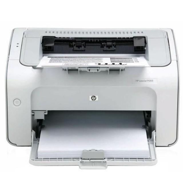 HP LaserJet P1102 лазерен принтер (употребяван)