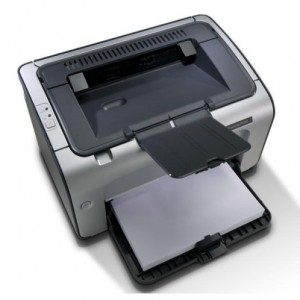 HP LaserJet P1006 лазерен принтер (употребяван)