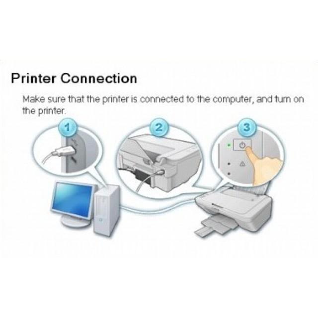 Локална инсталация в офиса на Клиента (матричен принтер)