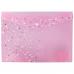 Папка джоб с копче Axent Fleur Цветя А4+