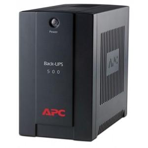 UPS APC Back-UPS 500VA непрекъсваемо токово захранване AVR, IEC outlets