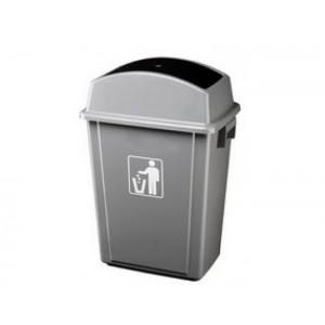 Пластмасов контейнер с люлеещ се капак 40 л.