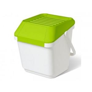 Пластмасов контейнер за отпадъци EASYMAX с преден отвор 45 л.