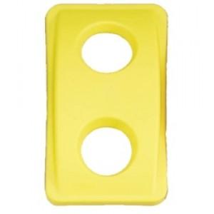 Капак с отвор, жълт за контейнер Slim Jim
