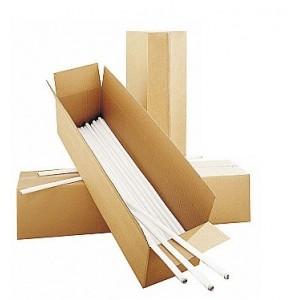 Картонени кутии за събиране на лампи
