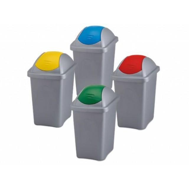 Пластмасов кош за разделно събиране 30 литра