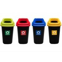 Пластмасов контейнер за разделно събиране 50 литра