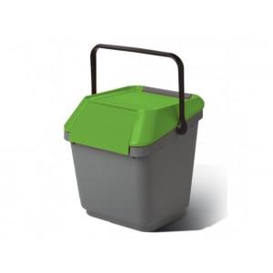 Пластмасов контейнер за отпадъци EASYMAX с преден отвор 35 л.