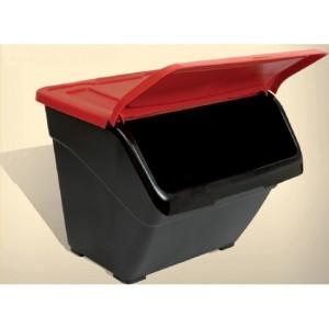 Пластмасов контейнер с преден отвор 30 литра