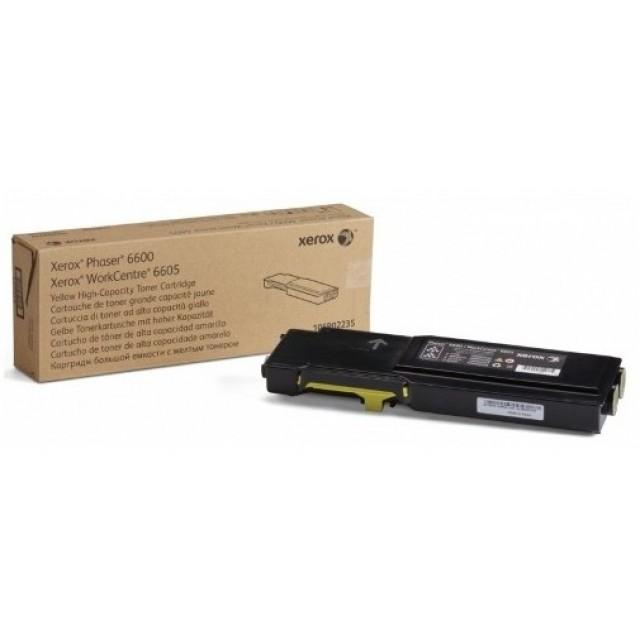 Xerox 106R02235 оригинална жълта тонер касета